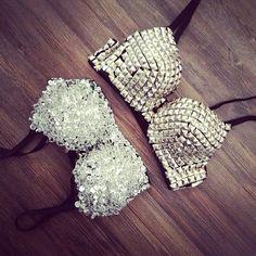 embelished bras