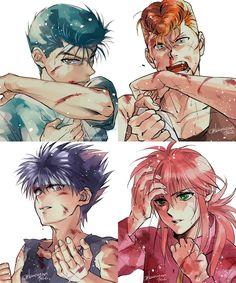 Manga Art, Manga Anime, Anime Art, Character Inspiration, Character Art, Yu Yu Hakusho Anime, Anime Faces Expressions, Yoshihiro Togashi, Fairy Tail Art