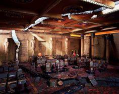 誰もいない世界、精緻なミニチュア廃墟7点 | ナショナルジオグラフィック日本版サイト