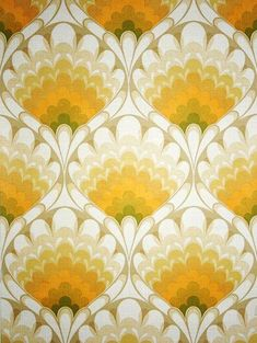 Vintage Wallpaper Wall Papers Ideas For 2019 60s Patterns, Textile Patterns, Textile Prints, Vintage Patterns, Print Patterns, Vintage Wallpaper Patterns, Tattoo Patterns, Textile Design, 80s Wallpaper