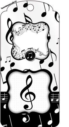 Msica imprimibles para fiestas e invitaciones para imprimir gratis tag agradecimento notas musicais stopboris Image collections