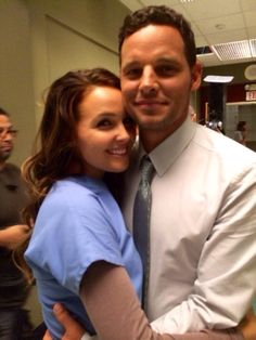 Alex and Jo Greys Anatomy Alex, Greys Anatomy Cast, Grey Anatomy Quotes, Alex Grey, Meredith Grey, Grey's Anatomy, Alex And Jo, Justin Chambers, Camilla Luddington