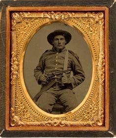 Confederate soldier 1861