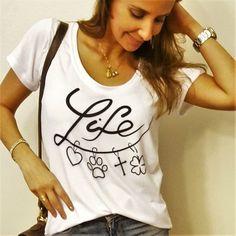 Camiseta Life - HARUMI