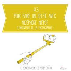 Les 10 bonnes raisons de visiter Chalon-sur-Saône : Pour faire un selfie avec Nicéphore Niepce