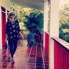 Sigo de paseo disfrutando en #micolombia de la tierra cafetera y su preciosa arquitectura! Los invito!!!