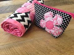 quilted cotton baby mat & zipper pouch tutorial jedicraftgirl.com