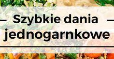 Dania jednogarnkowe to moje ulubione dania. Najczęściej kwalifikują się one również do kategorii: resztki z tygodnia. Zwykle w woku czy garnku ląduje u m...