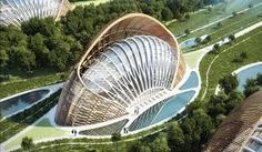 Risultati immagini per architetture futuristiche