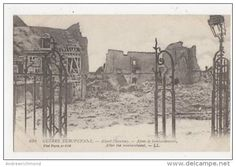 WW1, Albert, Somme, After the bombardment