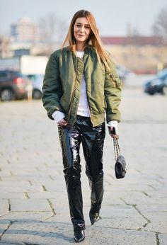 cool Оригинальная и стильная женская куртка бомбер — Как вписать в свой гардероб?