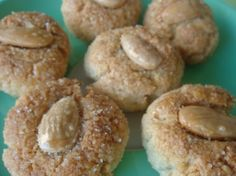 Amigthalota (Greek Almond Biscuits)