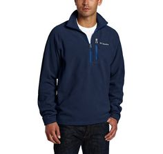 Columbia Men's Fast Trek II Half-Zip Fleece Jacket (Many Colors) $14.99 (amazon.com)