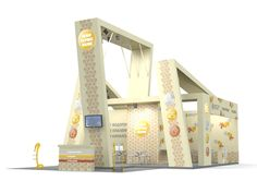 Leon Service Booth Design #booth