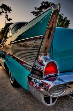 50's Chevy Bel Air....now that's a car! Joni Express