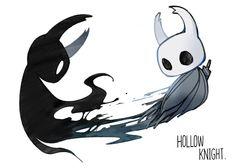 The Shade & its Vessel || pixiv IIIIIIInari! || Hollow Knight