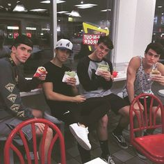grayson, ethan, nate, and alex