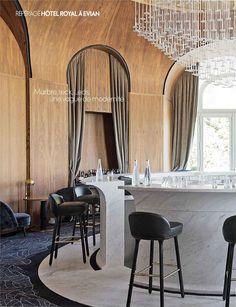 La Renaissance de l'Hôtel Royal à Évian - ELLE Décoration