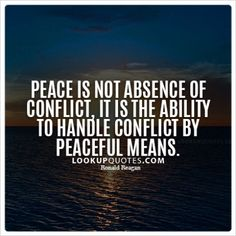 #peace #living #quotes