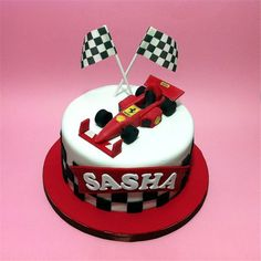 Trying to find the most interesting Ferrari - Formula 1 Cakes for Kids cake and cake shop out there? We make it easy to delivery cake they'll never forget. Ferrari F40, Bolo Ferrari, Lamborghini Cake, Ferrari Cake, Ferrari Logo, Birthday Cakes For Men, Cakes For Boys, Racing Cake, Party