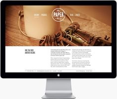 The Paper Mill website / by the Touch Agency