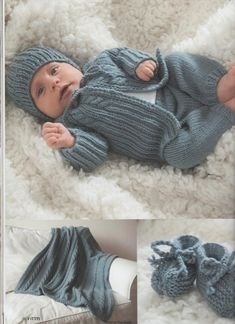 Baby Boy Knitting Patterns, Baby Cardigan Knitting Pattern, Baby Knitting, Crochet Baby, Knit Crochet, Baby Outfits, Kids Outfits, Knitted Baby Clothes, Baby Sweaters