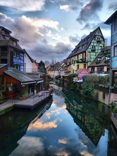 Town of Colmar in Northeast France