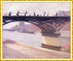 ¿De quién es este puente? Está en Paris...