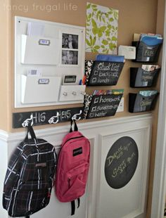 Much needed back to school organizing ,all the papers and clutter need a home!!!