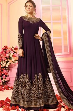 Looking to buy Anarkali online? ✓ Buy the latest designer Anarkali suits at Lashkaraa, with a variety of long Anarkali suits, party wear & Anarkali dresses! Bridal Anarkali Suits, Anarkali Gown, Indian Anarkali, Saree, Long Anarkali, Bridal Lehenga, Abaya Fashion, Indian Fashion, Fashion Dresses