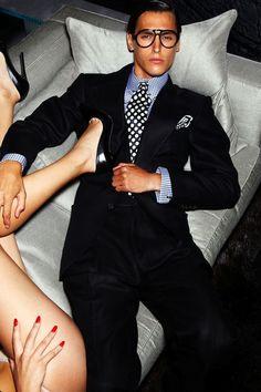 Tom Ford's Playboy Dream. Menswear Lookbook Spring/Summer 2012