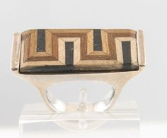 Labirinto ring - Wood Collection - Handmade jewel  Shop at www.oficinadarte.it