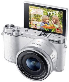 Samsung NX3000 Wireless Smart 20.3MP Compact System Camera with 16-50mm OIS Power Zoom Lens and Flash (White) Samsung http://www.amazon.com/dp/B00K88XMHC/ref=cm_sw_r_pi_dp_UUb2tb0YH9HJKHC5