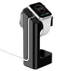 Apple Watch Stand, - Aktualisierte Version- JETech® Apple Watch Ladestation Lade Stehen Station Dock Plattform für Apple Watch 38/42mm Alle Models (Schwarz): Amazon.de: Elektronik