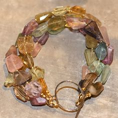 GEMMA Mixed Gemstone Bracelet.