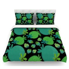 East Urban Home Garden Pods by Jane Smith Featherweight Duvet Cover Size: Twin
