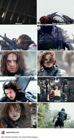Captain America: The Winter Solider - Humor Funny Marvel Memes, Marvel Jokes, Avengers Memes, Marvel Avengers, Marvel Comics, Disney Marvel, Bucky Barnes, Bucky And Steve, Bucky And Natasha