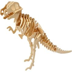 Dinosaur Model Construction Kit - Wood Craft - Self Assembly Puzzle - Gift Puzzles 3d, Wooden Jigsaw Puzzles, X 23, Hobbies And Crafts, Crafts For Kids, Arts And Crafts, 3d Puzzel, Construction Crafts, Pot A Crayon