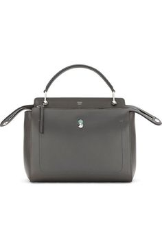 FENDI 'Dotcom' Leather Satchel. #fendi #bags #shoulder bags #hand bags #leather #satchel #