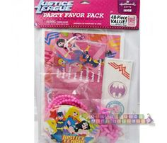 Justice League Girls Invites & Thank You Cards http ...