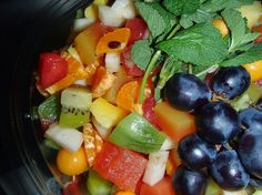 Salade de fruits http://saveursdubois.com/buffets/buffets-francais-campagnards/buffet-regional.html