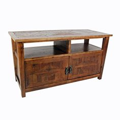 Alaterre Renew Reclaimed TV Stand, Natural