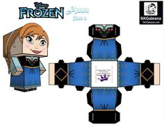 papertoys-anna-frozen-part-2
