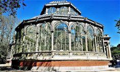 El Palacio de Cristal del parque del Retiro (Madrid)