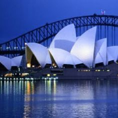 I would love to visit the awesome Sydney Opera House one day.