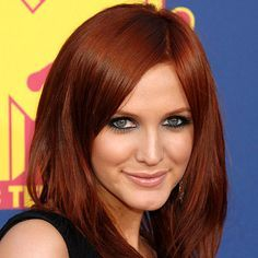 ashlee simpson red hair - Google Search