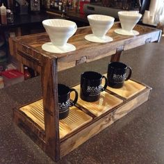 Our pour over bar will be a similar setup to this.