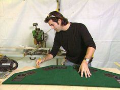 How to Construct a Poker Table : How-To : DIY Network