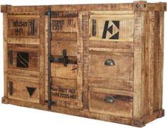 Reclaimed Wood Dresser, Storage, Sideboard, Furniture, Medium, Home Decor, Natural Colors, Closet, Living Room