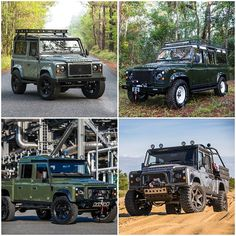 We offer 4 different #Defender models: the 90, 110, 130 and UVC. Which build is calling your name? #DefenderLife #DefenderLove #EastCoastDefender #Gearhead #Defender #LandRover #Defenders